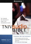 TNIV Audio Bible - Old Testament