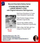 Beyond Disorderly Eating: Staying Motivated for a Large Weight Loss with Interactive Self-Hypnosis