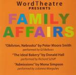 WordTheatre presents Family Affairs
