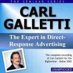 Carl Galletti - Big Seminar Series - Dallas 2003