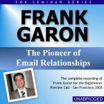 Frank Garon - Big Seminar Preview Call - San Francisco 2003