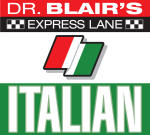 Dr Blair's Express Lane: Italian