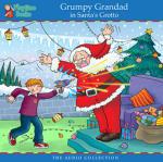 Grumpy Grandad in Santa's Grotto