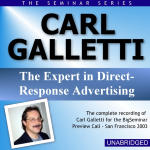 Carl Galletti - Big Seminar Preview Call - San Francisco 2003