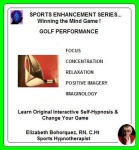 SPORTS ENHANCEMENT SERIES...Winning the Mind Game!  Golf Performance