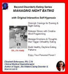 Beyond Disorderly Eating Series: Managing Night Eating with Original Interactive Self-Hypnosis